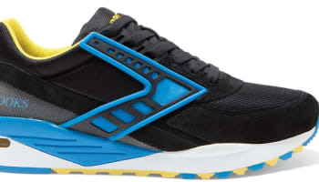 Brooks Regent Black/Brilliant Blue-Blazing Yellow