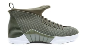 PSNY x Air Jordan 15 Retro Medium Olive/Medium Olive-Sail