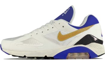 Nike Air Max 180 QS Summit White/Metallic Gold-Bright Concord