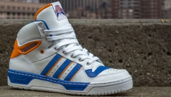 adidas Originals Attitude Hi White/Orange-Blue