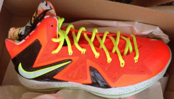 Nike LeBron X PS Elite Total Crimson