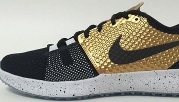 Nike Zoom Speed TR2 Black/Metallic Gold-White