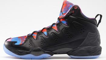 Jordan Melo M10 YOTH Black/Black-Deep Royal Blue-Red Violet-Infrared 23