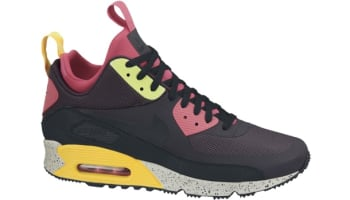 Nike Air Max '90 Sneakerboot NS Gridiron/Pink Force-Volt-Black