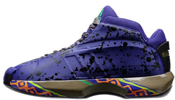 adidas Crazy 1 Blast Purple/Black-Vivid Green