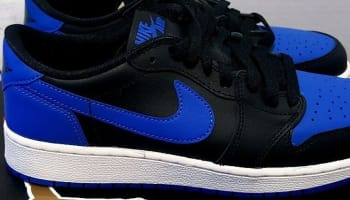 Air Jordan 1 Retro Low OG Black/Varsity Royal-Sail