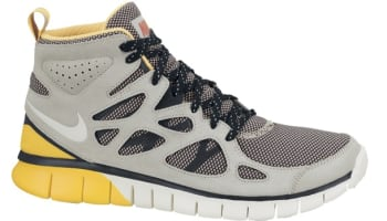 Nike Free Run 2 Sneakerboot Pale Grey/Sail-Maderia-Laser Orange