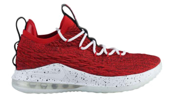Nike LeBron 15 Low University Red/White-Black-White