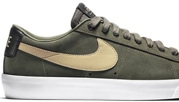 Nike Blazer Low GT SB Cargo Khaki/Bamboo-Gum Light Brown