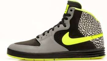 Nike Paul Rodriguez 7 High Premium SB Metallic Silver/Volt-Black