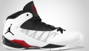 Jordan Fly Wade II EV White/Metallic Silver-Gym Red-Black