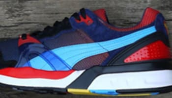 Puma Trinomic XT2 Black/Red-Sax-Blue-White