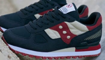 Saucony Shadow Original Black/Red-Natural