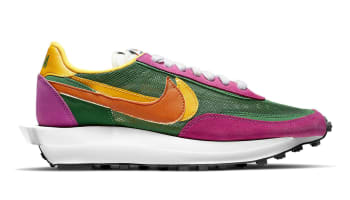 Sacai x Nike LDWaffle Pine Green/Clay Orange-Del Sol-Sail