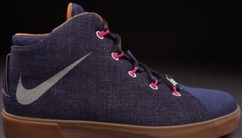 Nike LeBron XII NSW Lifestyle Midnight Navy/Fireberry