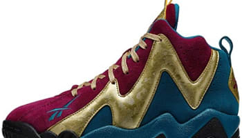 Reebok Kamikaze II Mid GS Rebel Berry/Gold-Emerald