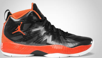 Air Jordan 2012 Lite Black/Blaze Orange-White