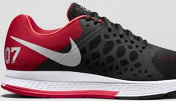 online retailer 507f6 6215a Nike Air Zoom Pegasus 31 N7 Black University Red-Hyper Punch-Metallic Silver