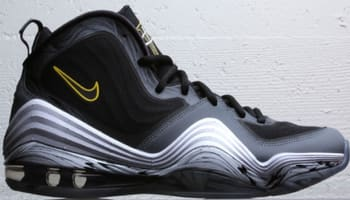 Nike Air Penny 5 Black/Cool Grey-Tour Yellow