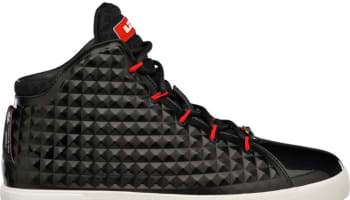 Nike LeBron XII NSW Lifestyle Black/Challenge Red-Black