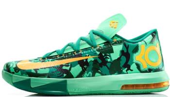 Nike KD VI Light Lucid Green/Atomic Mango-Light Lucid Green-Gorge Green-Black