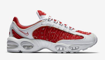 Supreme x Nike Air Max Tailwind 4 White/University Red-White-Geyser Grey