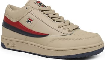 Fila T-1 Mid Cream/Fila Navy-Fila Red