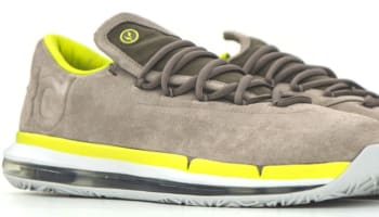 Nike KD VI Elite Premium Chino/Venom Green-Summit White-Light Base Grey
