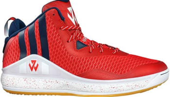 adidas J Wall 1 Red/Navy-White