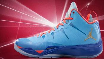 Jordan Super.Fly 2 Dark Powder Blue/Metallic Gold-Infrared 23