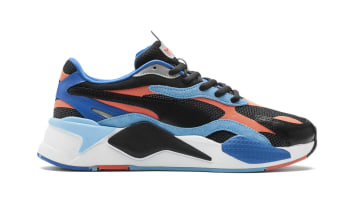 Puma RS-X Cubed Puma Black-Hot Coral