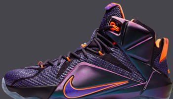 Nike LeBron 12 Cave Purple/Hyper Grape-Hyper Crimson-Hyper Turquoise
