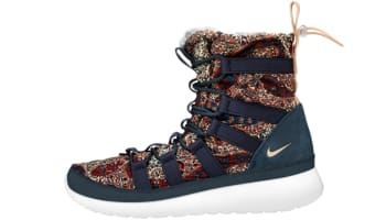 Nike Roshe Run Hi Sneakerboot Liberty QS Women's Armory Navy/Vachetta Tan