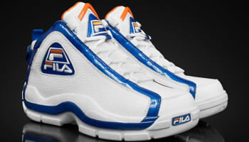 Fila 96 White/Prince Blue-Orange