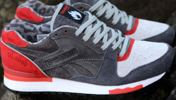Reebok GL6000 Medium Grey/Solid Grey-Carbon-Techy Red