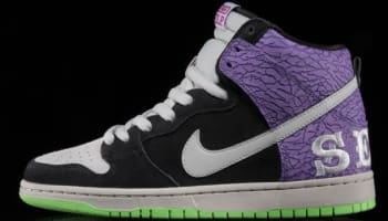 Nike Dunk High Premium SB Black/Mortar-Dark Raspberry