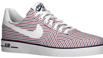 Nike Air Force 1 AC White/Gym Red-Midight Navy