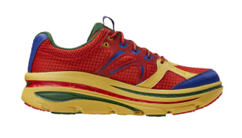 Engineered Garments x Hoka Bondi B Valent/Poppy/Sauteme