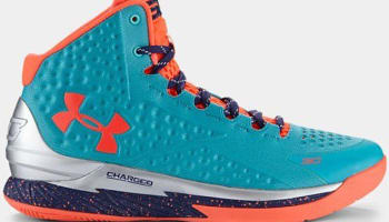 Under Armour Curry One Hyper Green/Purple-Blitz Orange