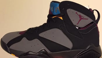 Air Jordan 7 Retro Black/Bordeaux-Light Graphite-Midnight Fog