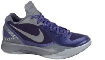 Nike Zoom Hyperdunk 2011 Low PE Club Purple/Metallic Silver-Cool Grey