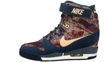Nike Air Revolution Ski Hi Liberty QS Women's Armory Navy/Vachetta Tan