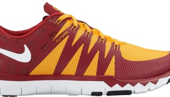 Nike Free Trainer 5.0 V6 Amp Team Crimson/White-University Gold