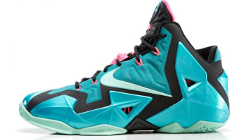 Nike LeBron 11 Sport Turquoise/Medium Mint-Black