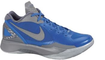 Nike Zoom Hyperdunk 2011 Low PE Treasure Blue/Metallic Silver-Cool Grey