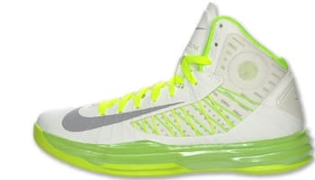 Nike Lunar Hyperdunk 2012+ Summit White/Wolf Grey-Electric Green-Liquid Lime