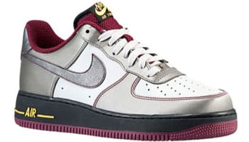Nike Air Force 1 Low Dusty Grey/Metallic Pewter-Cherrywood Red