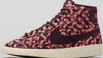 Nike Blazer Mid Premium VNTG Liberty Women's Deep Burgundy/Deep Burgundy