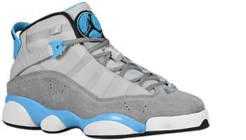 Jordan 6 Rings Wolf Grey/Cool Grey-Dark Powder Blue