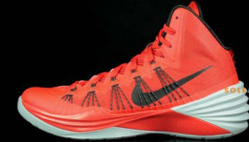 Nike Hyperdunk 2013 University Red/Black-Wolf Grey